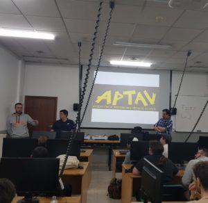 Presentación de APTAV na EISV