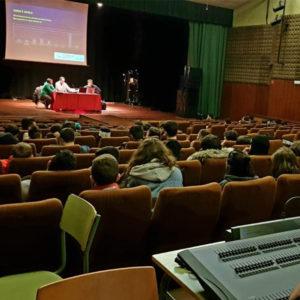 Charla cos alumn@s do EIS da Coruña