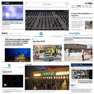 Concentración 17S – Santiago de Compostela: medios